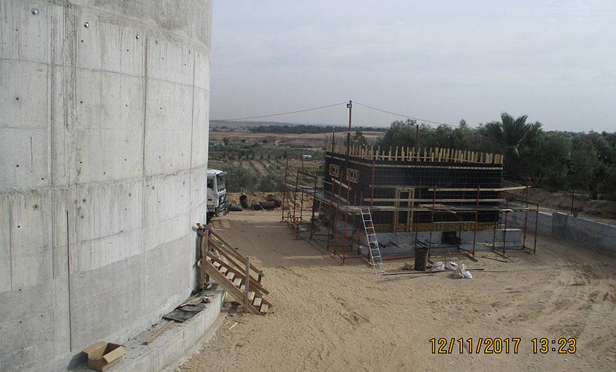 Construction of Al Bureij Reservoir and Pumping Facilities