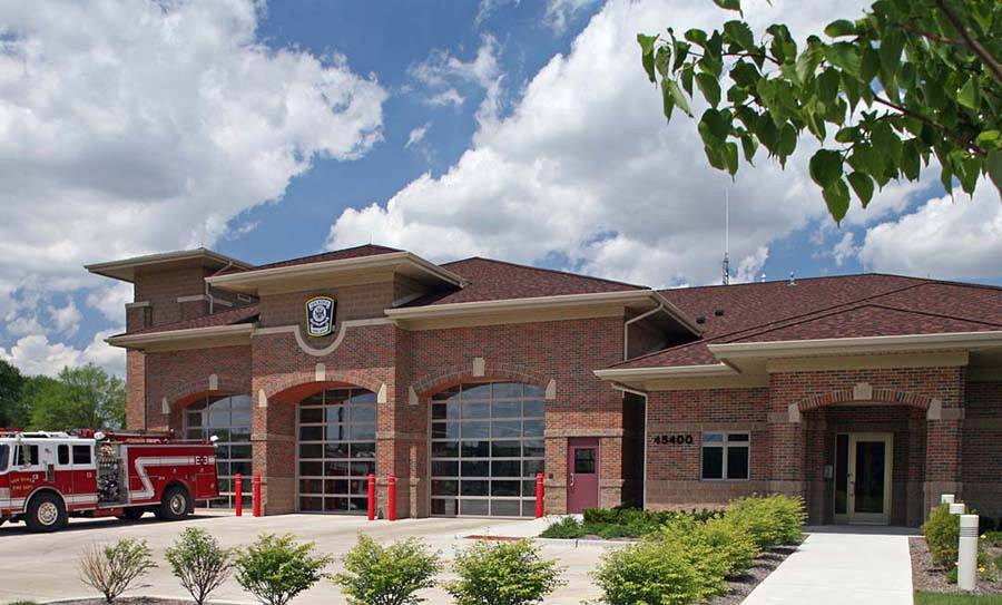 Van Buren South Fire Station No. 1, Township, Michigan